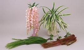 Искусственные ампельные растения