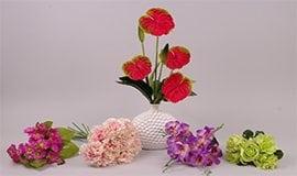 Букеты разных цветов