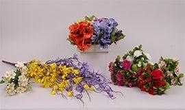Букеты весенних цветов