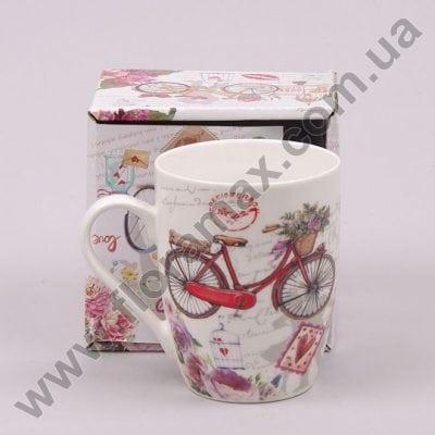 Фото Чашка керамическая Велосипед 0,31 л. 28152