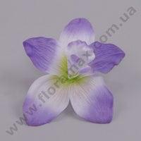 Головка Орхидеи бело-фиолетовая 23389