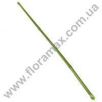 Опора для рослин бамбукова зелена в пластику 105см.