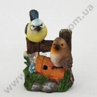 Садовая фигура Птички со звуком К4.048