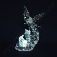 Ангел акрил с подсветкой 21671