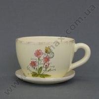 Горшок керамический Чашка К1.215.15