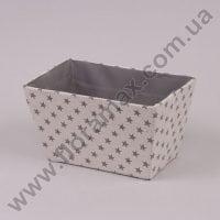Корзина из ткани 5112 кремовая