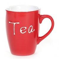 Чашка керамическая TEA 0,33 л. 28173