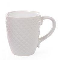 Чашка керамическая Сетка 0,4 л. серая 28386