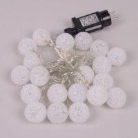 Гірлянда LED Силіконові кульки тепле світло 20 світлодіодів 2,85 м. 40835