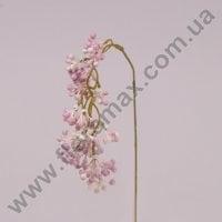 Гілка декоративна звисаюча рожева 71229