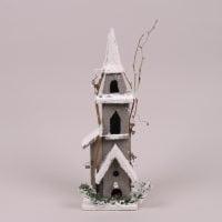 Дерев'яна Хатинка з LED-підсвіткою 26617