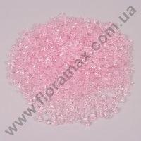 Камушки декоративные светло-розовые 1,5 х 1 см. (1000 шт.) 25923