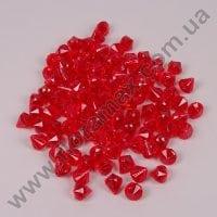 Камушки декоративные красные 2 х 2,5 см. (110 шт.) 25931