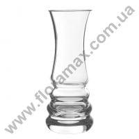 Ваза скляна H-17 см. 8217