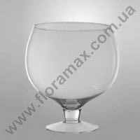 Ваза скляна Келих H-28 см. 8220