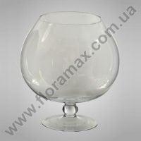 Ваза скляна Келих H-30 см. 8221
