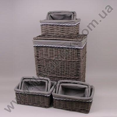 Фото Комплект корзин для белья 10 шт. 5316