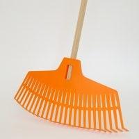 Грабли пластмассовые IGR2 оранжевые 14128