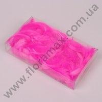 Перья декоративные розовые 50 г. 37328