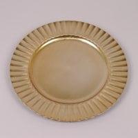 Підставка для свічки золота D-33 см. 8834