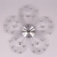 Часы металлические с стразами D-47 см. 8734