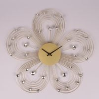 Часы металлические с стразами D-47 см. 8748