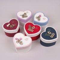 Коробка для подарков Сердце микс 6 шт. (цена за 1 шт.) 41010