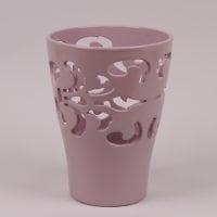 Горшок керамический Орхидейница Барокко пудровый