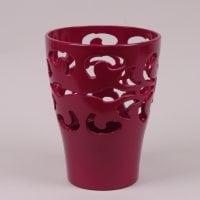 Горшок керамический Орхидейница Барокко сливовый