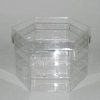 Акриловая коробка для цветов 41082