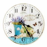 Часы стеклянные D-30 см. 30500