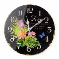 Часы стеклянные D-30 см. 30505