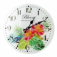 Часы стеклянные D-30 см. 30508