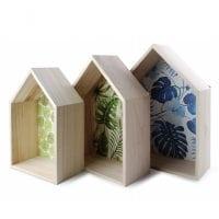 Комплект деревянных полочек 3 шт. 30548