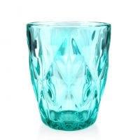 """Комплект смарагдових скляних склянок """"Elise"""" 250 мл. 6 шт. 30654"""
