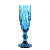 """Комплект синих стеклянных бокалов """"Elise"""" 170 мл. 6 шт. 30653"""