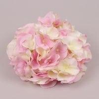 Головка Гортензії кремово-рожева 23770