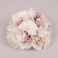 Головка Гортензії біло-рожева 23779