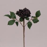Ветка с черными ягодами 71656