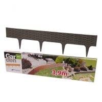 Бордюр садовый Garden Border серый 3.9м.