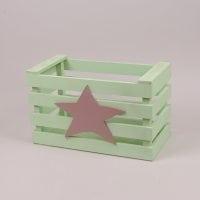 Детский ящик для игрушек салатовый 29559
