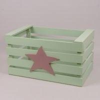 Детский ящик для игрушек салатовый 29563