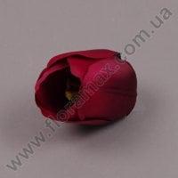 Головка Тюльпана бордовая 23626