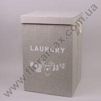 Корзина для белья с ткани 30538