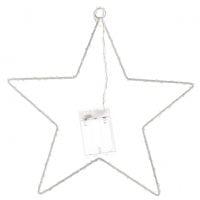 Декоративная звезда с LED-подсветкой 40 см. 11297
