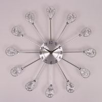 Часы металлические D-37 см. 8714