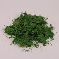 Мох декоративный зеленый 50 гр. 25389