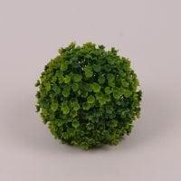 Куля декоративна яскраво-зелена D-10 см. 71772