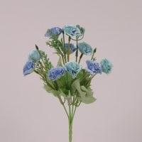 Букетик Гвоздик блакитний 30 см. 71719
