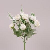 Букетик Камелій білий 30 см. 71744